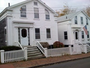 Center Street Greek Revival House, Nantucket